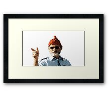 Bill Murray - The Life Aquatic Framed Print