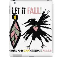 crow and gaia celebrate autumn iPad Case/Skin