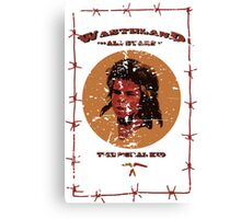 WAS - The Feral Kid Canvas Print