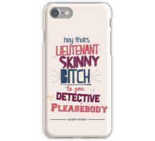 Lieutenant Skinny Bitch iPhone Case/Skin