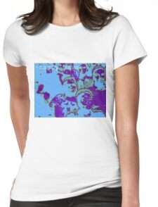 tasty waves and a cool buzz Womens Fitted T-Shirt