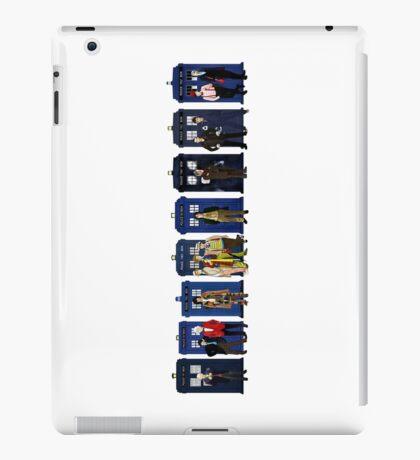 Doctor & Tardis Lineup iPad Case/Skin