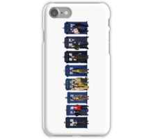 Doctor & Tardis Lineup iPhone Case/Skin