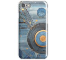 20's style celestial painting iPhone Case/Skin