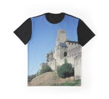 The fortified, old, town of Carcasonne, France Graphic T-Shirt
