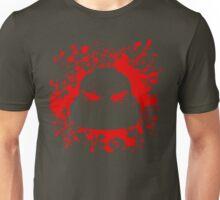 Headshot (red) Unisex T-Shirt