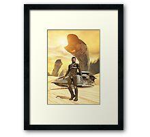Dune Paul Muad'Dib Framed Print