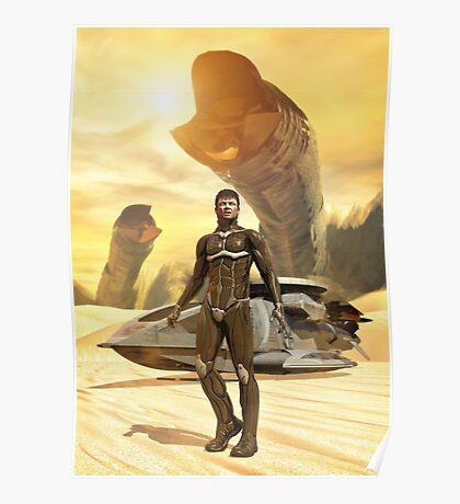 Dune Paul Muad'Dib Poster