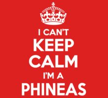 I can't keep calm, Im a PHINEAS by icant