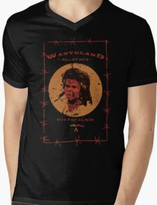 WAS - The Feral Kid Mens V-Neck T-Shirt