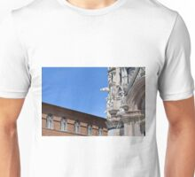 Detail of cathedral from Siena and surrounding building Unisex T-Shirt