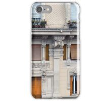 Beautiful decorative classical building facade from Genova iPhone Case/Skin