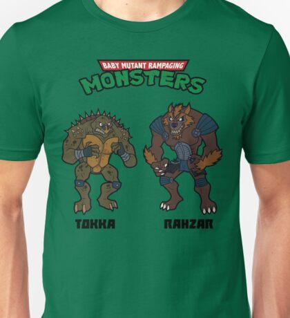 TMNT TOKKA AND RAHZAR Unisex T-Shirt