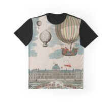 French Balloons Graphic T-Shirt