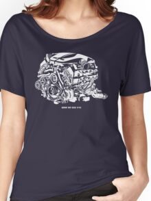 M5 E60 V10 Engine Women's Relaxed Fit T-Shirt