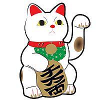 Maneki Neko (Lucky Cat) Photographic Print