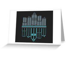 Neon Night  Greeting Card