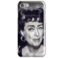 Jacket Joan iPhone Case/Skin