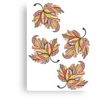 Autumn is here!! Canvas Print