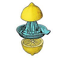 Lemon Graphic Photographic Print