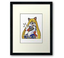 Sailor Moon Moon Framed Print