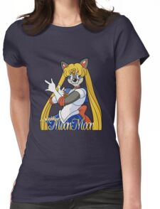 Sailor Moon Moon Womens Fitted T-Shirt