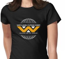 Weyland Yutani - Yellow Logo Womens Fitted T-Shirt
