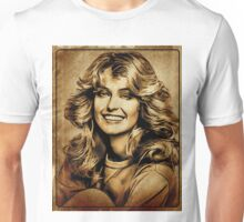 Farrah Fawcett Hollywood Actress Unisex T-Shirt