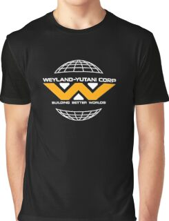 Weyland Yutani - Yellow Logo Graphic T-Shirt