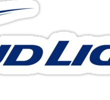 BUD LIGHT LOGO 2 CMPL Sticker