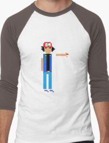 Ash Ketchum  Men's Baseball ¾ T-Shirt