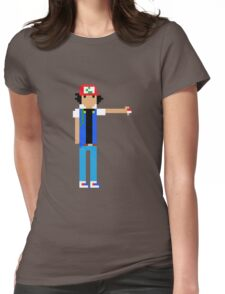 Ash Ketchum  Womens Fitted T-Shirt