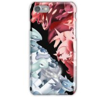Pkmn Starters iPhone Case/Skin