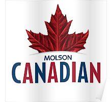 MOLSON CANADIAN LOGO CMPL Poster