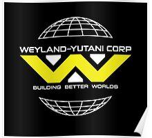 Weyland Yutani - Bright Yellow Logo Poster