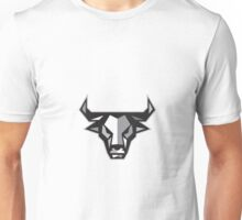 Bull Cow Head Low Polygon Unisex T-Shirt