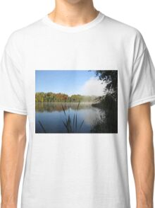 A Fine Autumn Morning By The River Classic T-Shirt