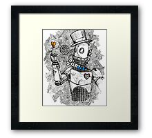 I Think, Therefore I Am. Framed Print