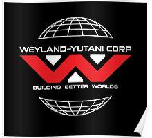 Weyland Yutani - Red Logo Poster