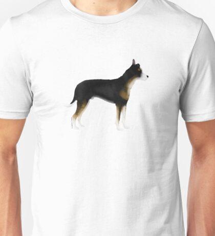 Mutt: Tricolor Unisex T-Shirt