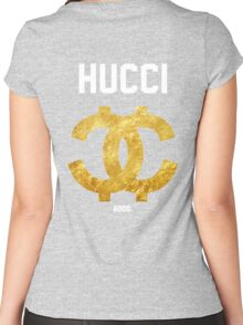 HUCCI GOOD Jersey Women's Fitted Scoop T-Shirt