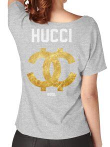 HUCCI GOOD Jersey Women's Relaxed Fit T-Shirt
