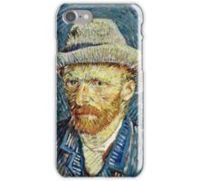 Vincent Van Gogh - Self Portrait With Grey Felt Hat, September 1887 - October 1887  iPhone Case/Skin