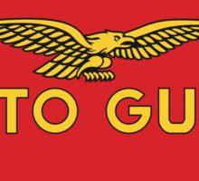 Vintage Moto Guzzi logo Sticker