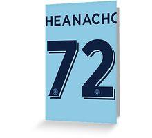 Kelechi Iheanacho Greeting Card
