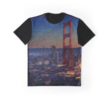 San Francisco collage Graphic T-Shirt
