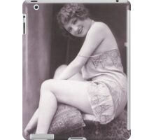 Portrait of a Victorian Lady vintage photograph iPad Case/Skin