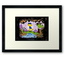 Ferald and Mr.Wiggly Framed Print