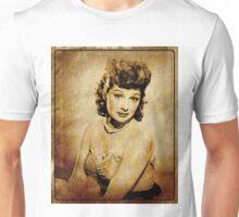 Lucille Ball Hollywood Actress Unisex T-Shirt