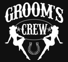 Old West Bachelor Party - Groom's Crew Version by robotface